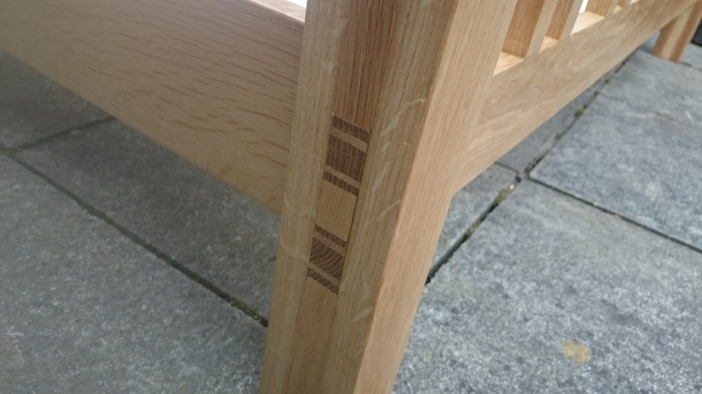 Double mortise and tenon