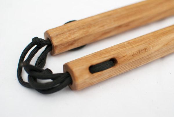 Handmade Ash Nunchaku by Seaholme Kobudo