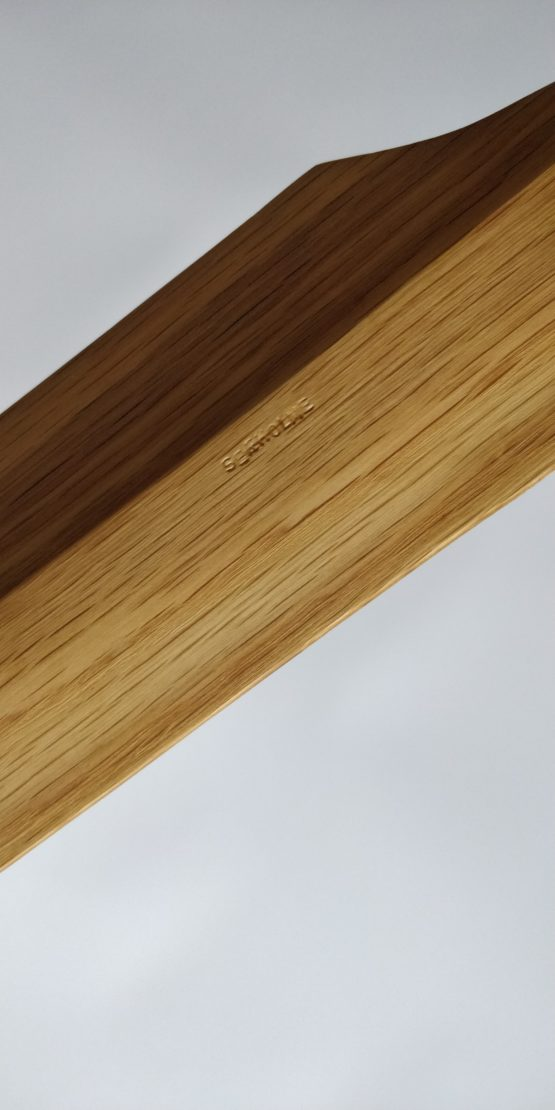 Handmade Eku for Okinawan Kobudo in Oak and Tung Oil, by Seaholme Kobudo