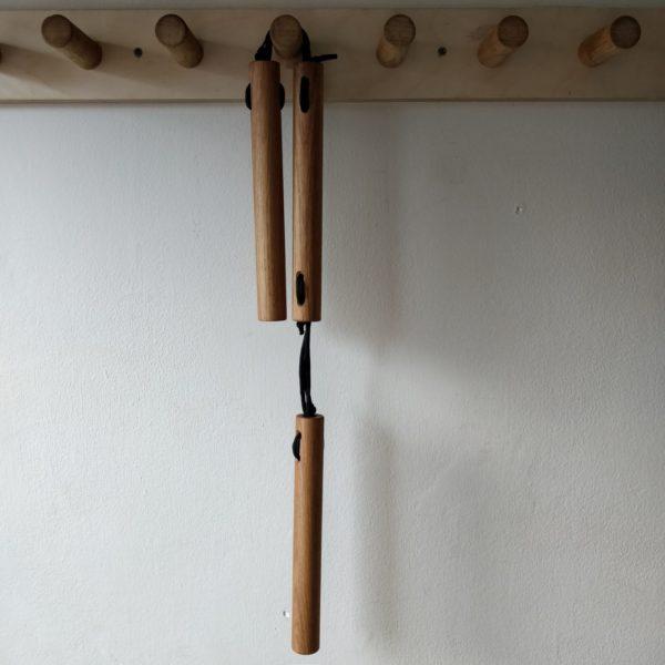 Chisai Sansetsukon made of oak, by Seaholme Kobudo